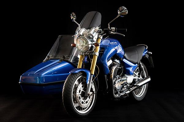 Motorrad Sachs mit Beiwagen