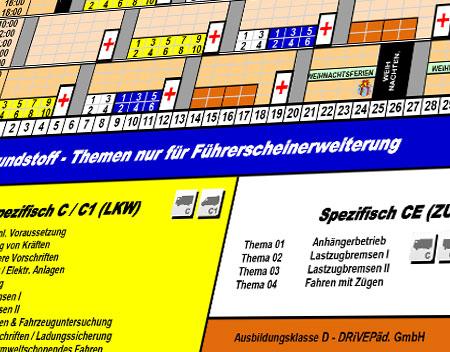 Fahrschule Erkner Theorieplan LKW 2020